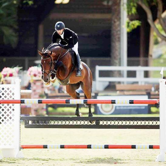 © : Andrés Torres and Chabacano, 7 Year-old horses Champion