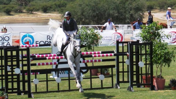 © : Gustavo Ramos first double clear round