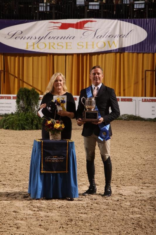 © Al Cook Productions: Leading Hunter Rider: Scott Stewart