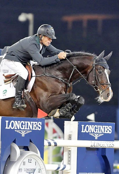 © Stefano Grasso/LGCT: Rolf-Göran Bengtsson on Casall ASK    FRONT