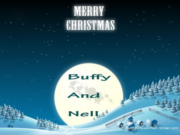 © buffy: buffy and nell merry christmas