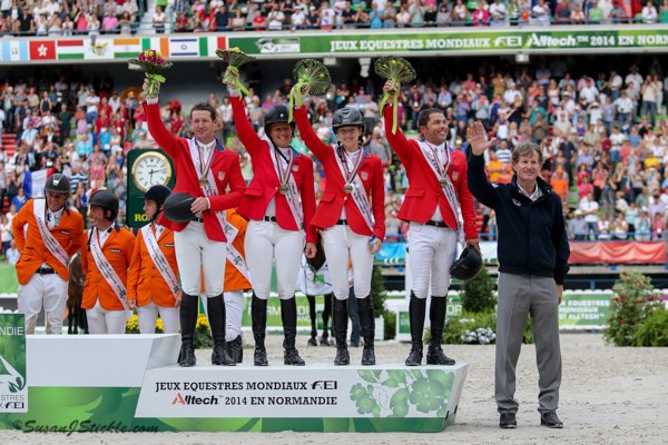 © Susan J. Stickle: U.S. Bronze Medal Team